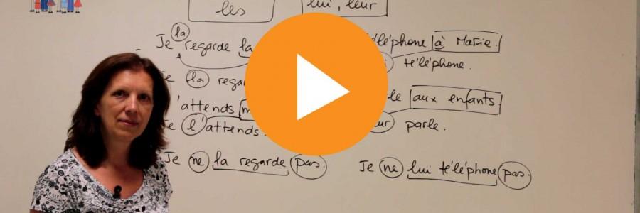 FRANCÉS: Pronombre cod coi