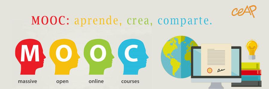 MOOC: APRENDE, CREA, COMPARTE